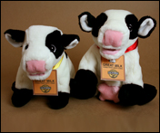 Happy cow plushies