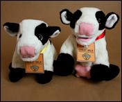 Happy cow plushies