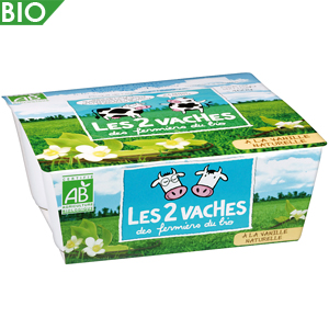 Les 2 vaches yogurt