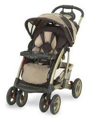 Graco Quattro & Metrolite strollers recalled