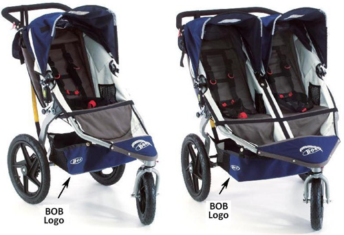 B.O.B. single and double strollers recalled due to strangulation hazard