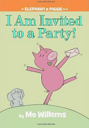 Mo Willem's Gerald and Piggie book I'm invited to a party
