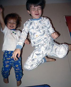 Jumping boys by Madaise - Flicker Creative Commons license
