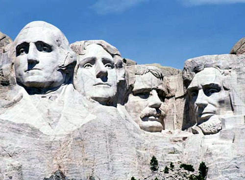 Mount Rushmore - Presidents' Day