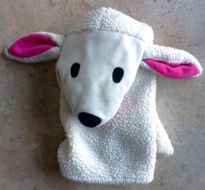 IKEA lamb hand puppet