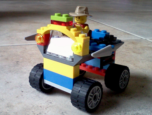 Wordpress weekly photo challenge: everyday life - building Lego