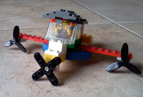Wordpress photo challenge: everyday life - Lego contraption