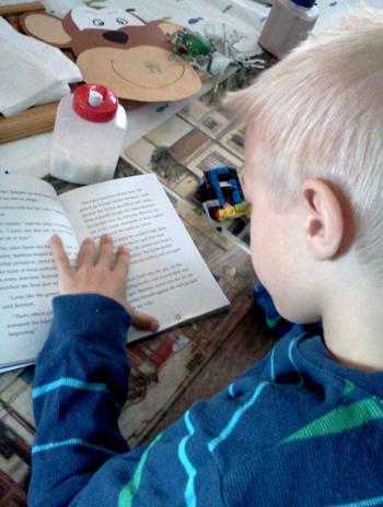 Wordpress weekly photo challenge: solitary - reading