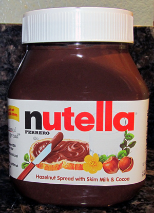 WordPress weekly photo challenge: Foreign - Nutella