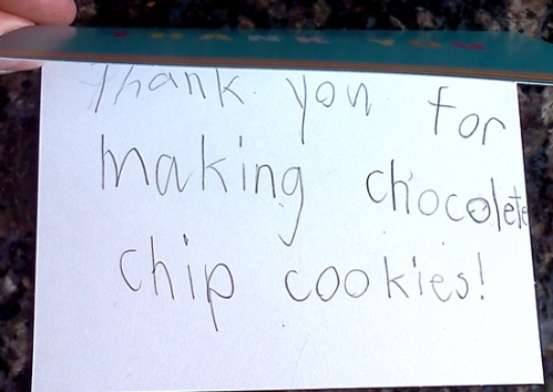 WordPress weekly photo challenge: Forward to chocolate chip cookies