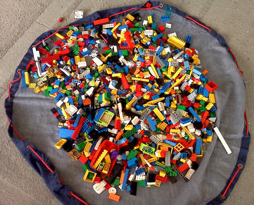 WordPress weekly photo challenge: Home - Lego bag