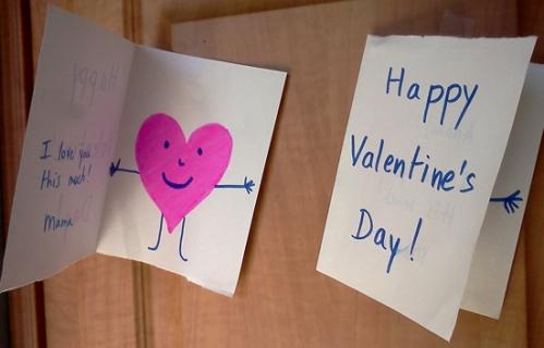 My Valentine's cards to my boys