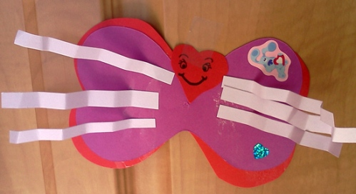 Valentine lovebug