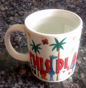 Goofy Monday - cup of water with no tea bag
