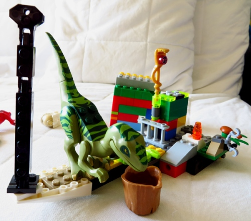 WordPress weekly photo challenge: The world through my eyes - Lego dinosaur