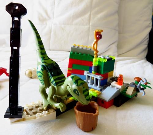 WordPress weekly photo challenge: The world through my eyes - Lego dinosaur
