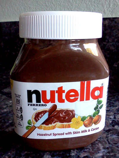 WordPress weekly photo challenge: Nostalgic - Nutella jar