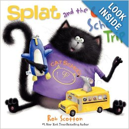 Splat The Cat And The Cool School Trip