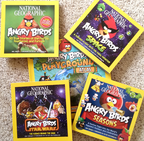 National Geographic for Kids Angry Birds books