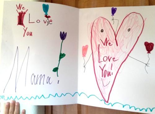 Wordpress Weekly Photo Challenge: Treasure - huge Valentine card