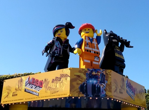 LEGO movie experience at LEGOLAND California