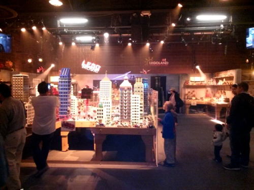 Lego movie set at LEGOLAND California