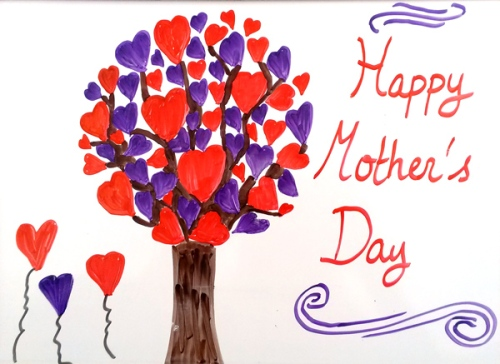 Happy Mother's Day tree of love