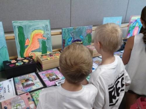 Art camp show