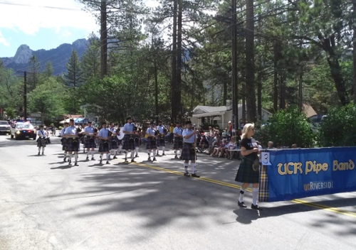 Fourth of July parade in Idyllwild